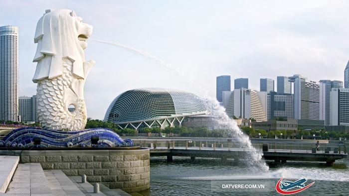 Merlion – biểu tượng Singapore
