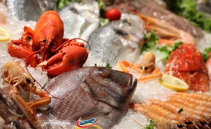 Úc nổi tiếng với các loại hải sản tươi ngon