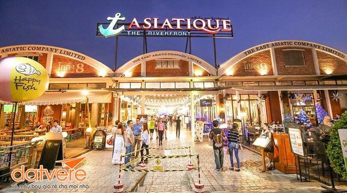Thỏa sức mua sắm ở Trung tâm Asiatique!