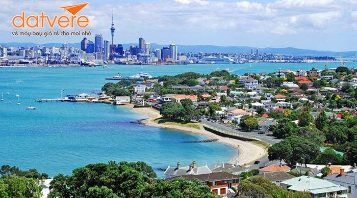 Toàn cảnh vẻ đẹp thành phố biển vàng Auckland