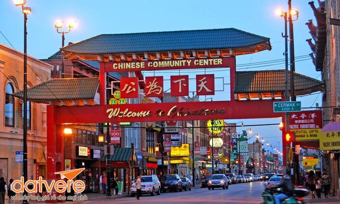 Lạc bước ở khu phố Tàu tại Mỹ