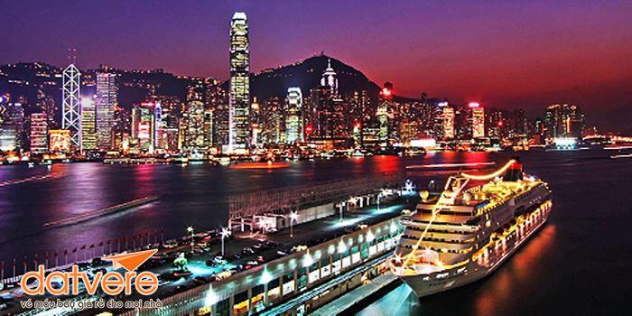 Vẻ đẹp ở bến cảng danh tiếng nhất Kongkong về đêm