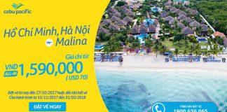 Cebu KM vé rẻ đi Manila chi từ 70 USD