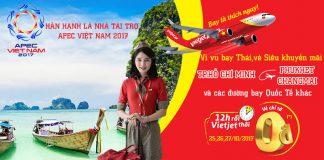 Vietjet Air KM vé 0 đồng đến Thái Lan và nhiều điểm đến quốc tế khác dịp này