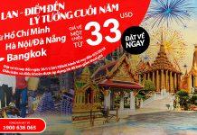 Air Asia KM vé đi Thái Lan giá rẻ