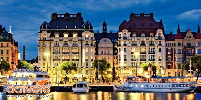 Vẻ đẹp cổ kính ở Stockholm