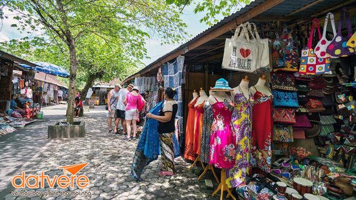 Điểm mua sắm ấn tượng ở Ubud.