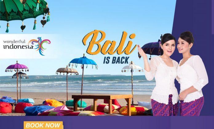 KM của Malindo Air hành trình đi Bali.