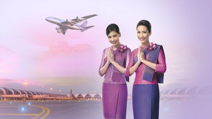 Thai Airways KM vé khứ hồi từ 175 USD