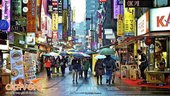 Đường phố Seoul ngày thường nhật