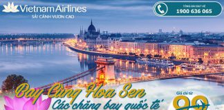 KM Vietnam Airlines chặng bay quốc tế