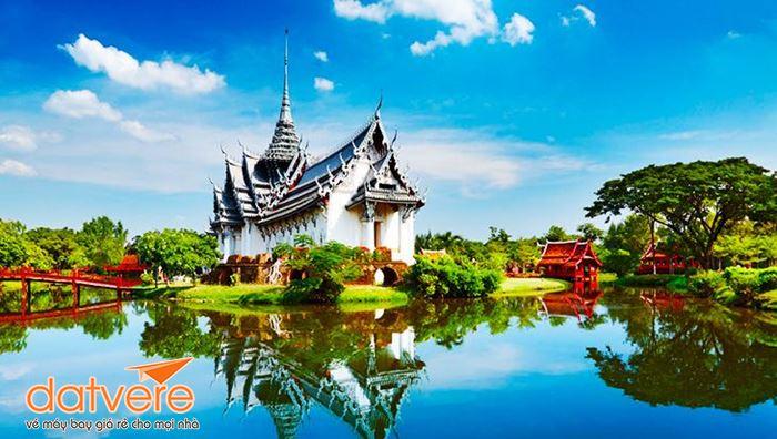 Vẻ đẹp mê hoặc ở công viên Muang Boran
