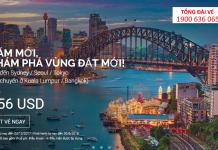 Mừng năm mới 2018, Air Asia KM vé chỉ từ 156 USD
