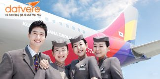 Asiana Airlines ưu đãi vé khứ hồi hạng Thương gia chỉ từ 2.692 USD