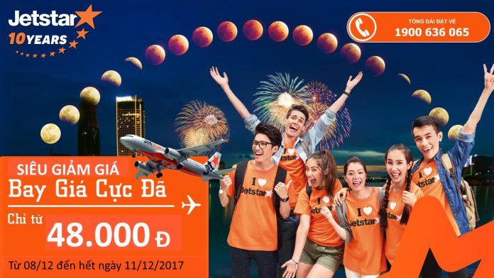 KM của Jetstar Việt Nam