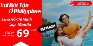 Air Asia KM vé máy bay đi Manila Philippines
