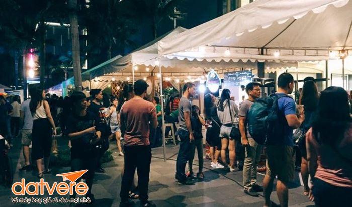 Thủ đô Manila có nhiều khu chợ đêm nổi tiếng