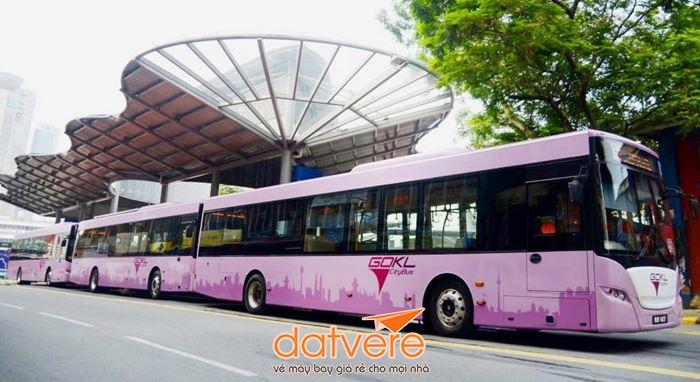 Di chuyển bằng phương tiện công cộng ở Kuala Lumpur
