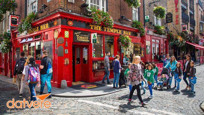 Những khoảng khắc bình yên ở Dublin