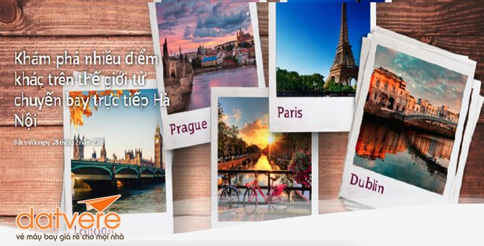 Cùng Qatar Airways khám phá châu Âu
