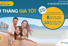 Vietnam Airlines mở bán vé khứ hồi bay quốc tế chỉ từ 99 USD