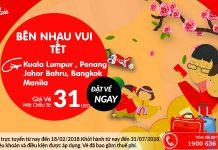 Air Asia mở bán vé một chiều chỉ từ 31 USD đã thuế phí