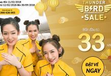 Nok Air mở bán vé một chiều chỉ từ 33 USD - Bay Thái Lan