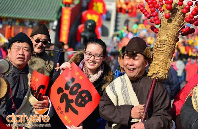 Chào đón năm mới cùng người Trung Quốc