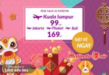 Chương trình KM Tết của Malindo Air