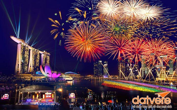 Chào đón năm mới cùng người dân quốc đảo sư tử