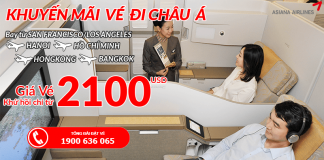 Chương trình khuyến mại Asiana Airlines