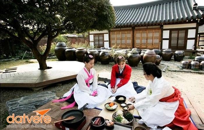 Làng cổ Hanok Jeonju