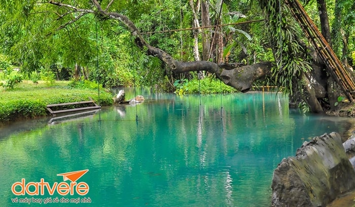 Làn nước ở hồ Khoun Kong Leng