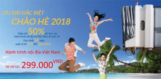 Vietnam Airlines mở bán vé một chiều chỉ từ 299.000 Đ