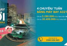 Đường bay mới: Cam Ranh - Incheon của Vietnam Airlines