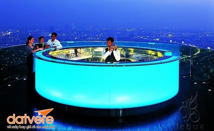 Trải nghiệm tuyệt vời ở Lebua Sky Bar