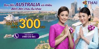 Chương trình khuyến mại hãng Thai Airways