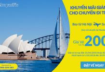 Cebu khuyến mại vé đi Úc giá rẻ