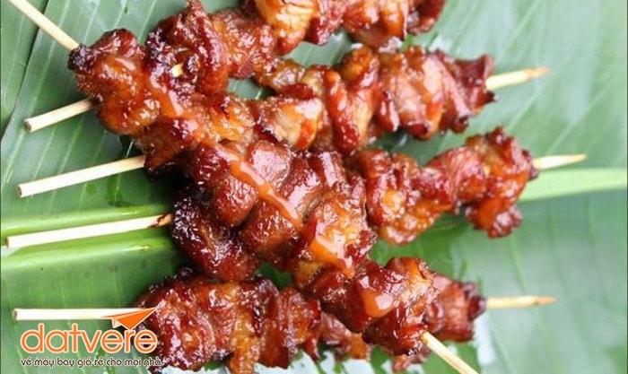 Thịt xiên nướng Hua Hin