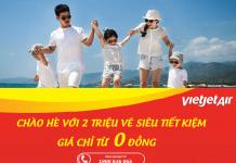 Chương trình khuyến mại Vietjet Air