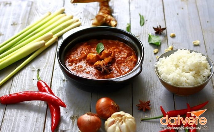 Những loại cà ri nổi tiếng ở Thái Lan