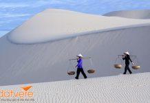 Những đồi cát đẹp nổi tiếng ở Việt Nam