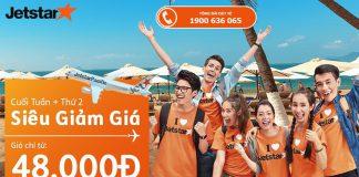 Jetstar Pacific mở bán vé một chiều từ 48.000 Đ